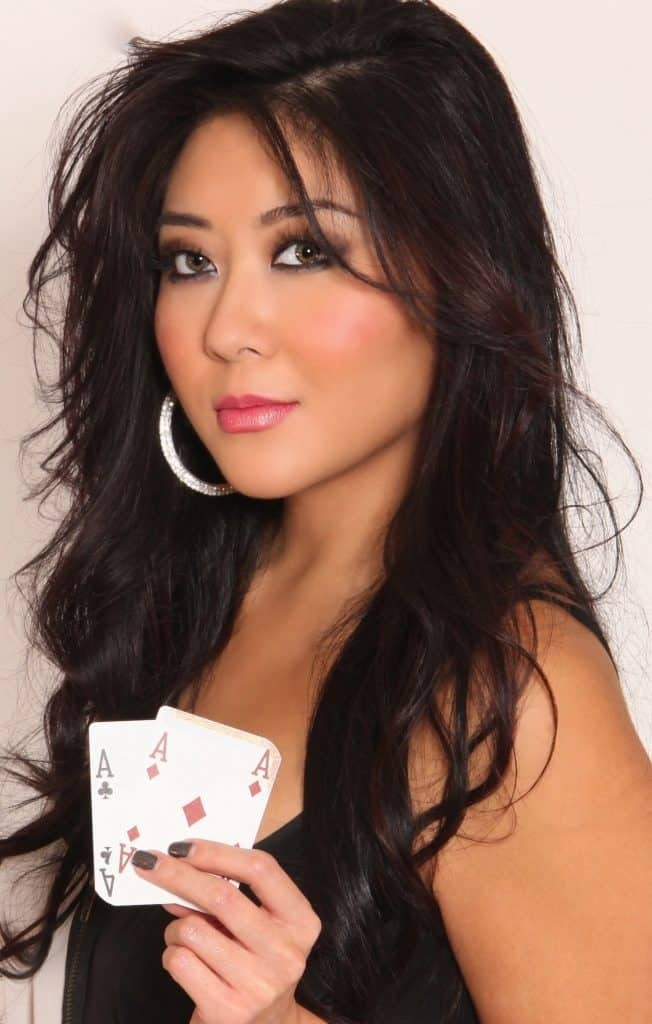 Professional poker player Maria Ho